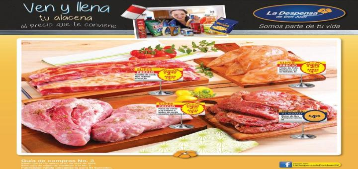 guia de ofertas mes de abril 2016 despensa de don juan