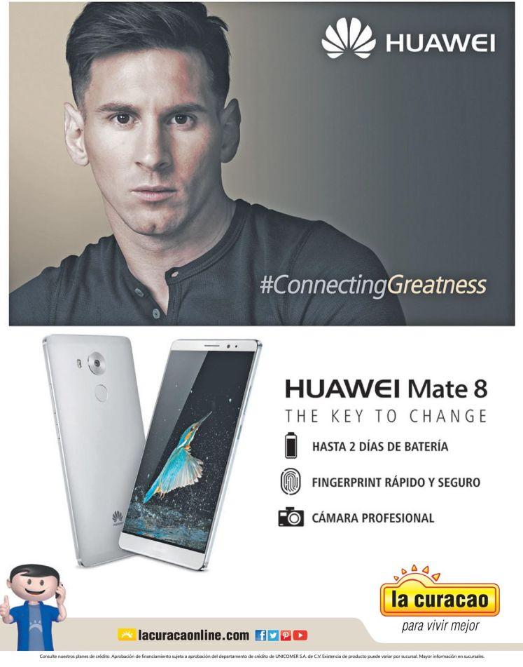 new HUAWEI mate 8 bateria durable hasta 2 dias