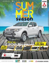 sport pickup for summer vacations MITSUBISHI L200