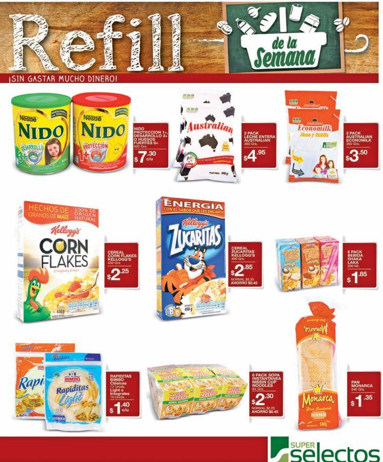 El Super refil de la semana en supermercado - 03may16