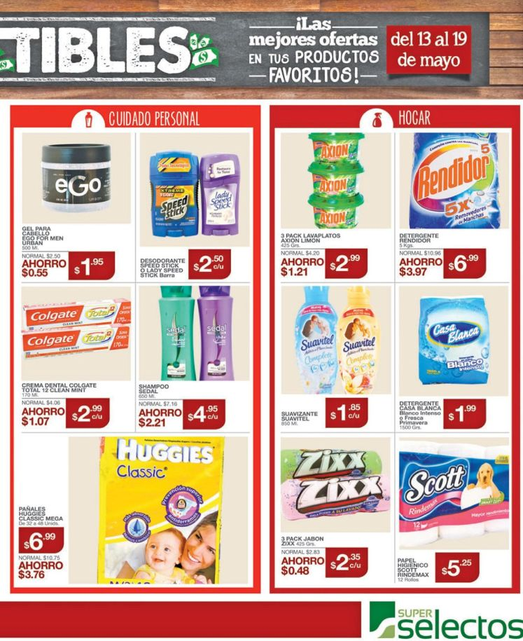 Estas son las promociones super irresistibles de Super Selectos - 13may16