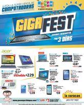 GIGA fest super venta de computadoras en almacenes LA CURACAO - 20may16