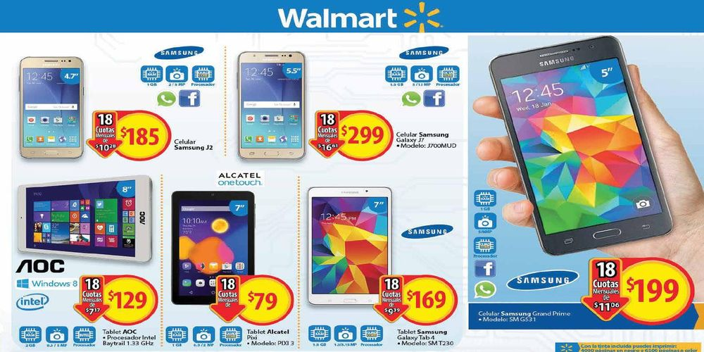 WALMART catalogo, búscale pagar menos BLACK WEEKEND