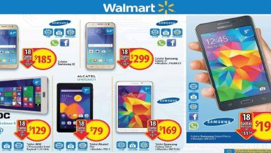 Nuevos celulares y tablets en walmart el salvador