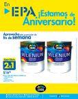 Ofertas EPA PINTURA acrilica exterior e interior corona MILENIUM 2x1