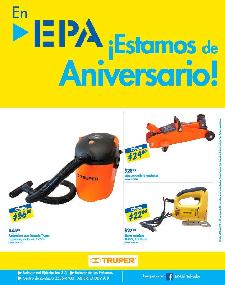 TRUPER engine aspiradora OFERTAS ferreteria EPA - 13may16