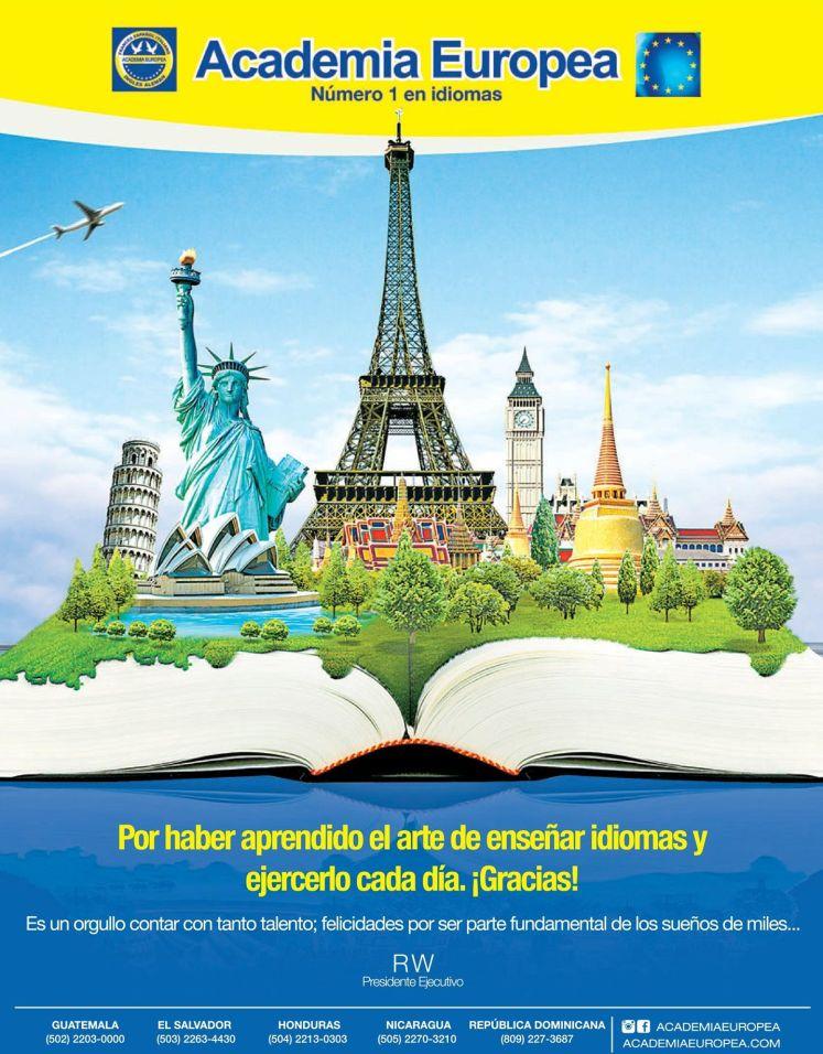 Academis Europea el salvador cursos para aprender idiomas
