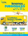 Fin de semana FURGONAZO de productos en Ferreteria EPA