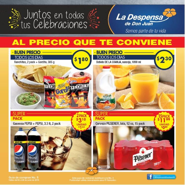La Despensa de Don Juan - Guia de Compras no 5 - Junio 2016