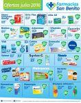 Ofertas JULIO 2016 farmacias san benito el salvador