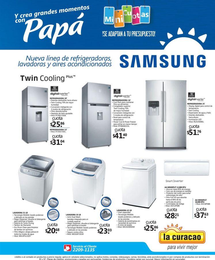 Twin cooling samsung frigorificos ofertas LA CURACAO - 03jun16