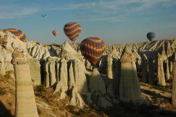 globos aeroestaticos en cappadocia