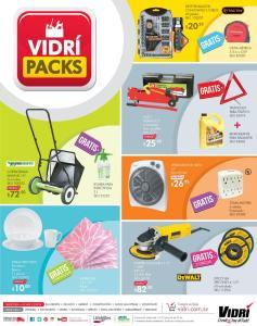 Folleto de ofertas VIDRI packs deals JULIO 2016