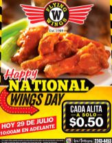 HAPPY national wings day