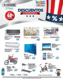 INDEPENDENCE DAY disocunts la curacao el paseo