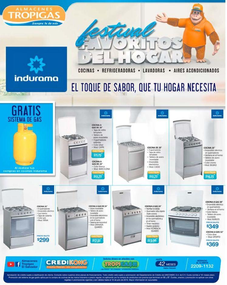 INDURAMA appliance cocinas y mas