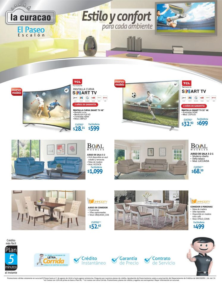 LIFE style appliiances funitures and smart tv