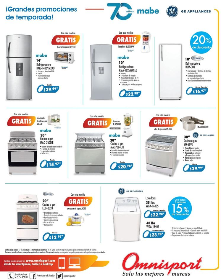 MABE and GE appliances deals BUY ONLINE