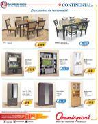 Muebles de sala cocina comedos OMNISPORT promociones julio 2016