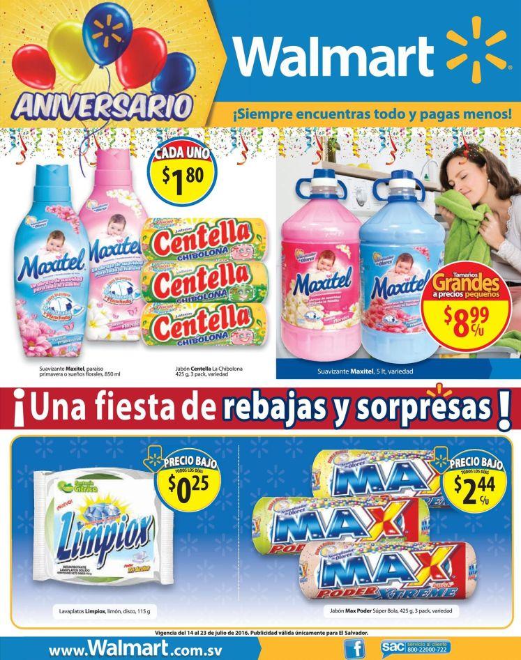 WALMART sabe que necesitas ofertas pa lavar la ropa