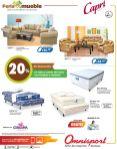 feria consuma promociones en muebles omnisport el salvador