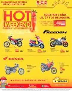 ABIERTO hasta noche y compra tu moto nueva en el HOT WEEKEND