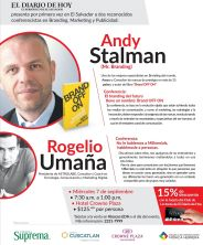 Andy Stalman conference el salvador brand off on