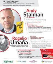 Andy Stalman conference el salvador brand off on