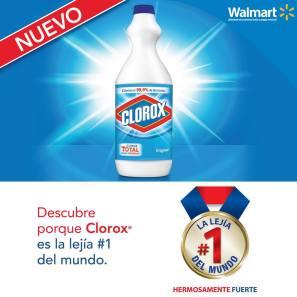 Descubre el nuevo CLOROX total la lejia nuemeor uno del mundo