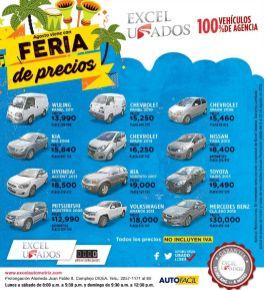 FERIA de precios en autos usados el salvador comprar carro