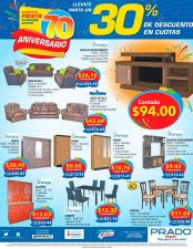 FURNITURE anivesary discount PRADO deals el salvador