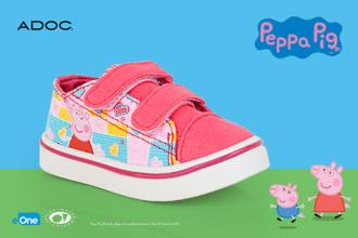 Promociones AODC zapatos de la peppa
