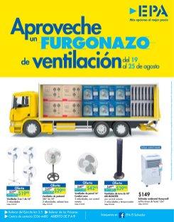 SEMANA de furgonazos EPA en variedad de ventiladores y enfriadores hasta 25 agosto