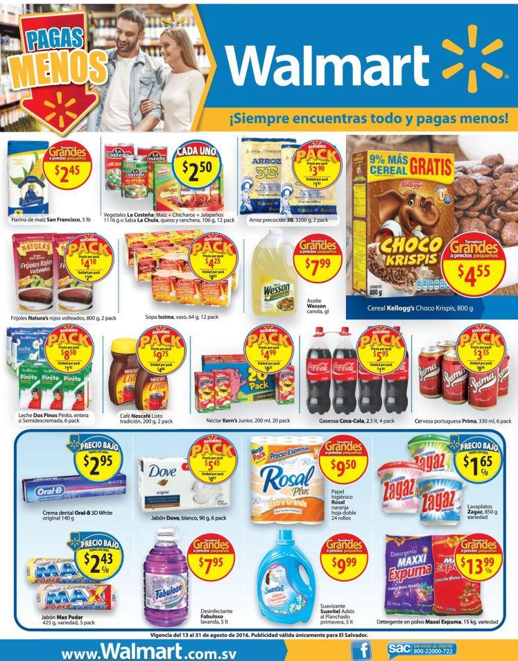 TODOS tus productos de casa y colegio en PACK walmart ofertas