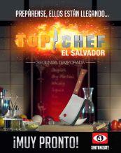 muy pronto TOP CHEF el salvador segunda temporada 2016