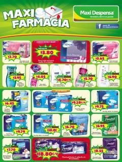 ofertas maxi farmacias agosto 2016