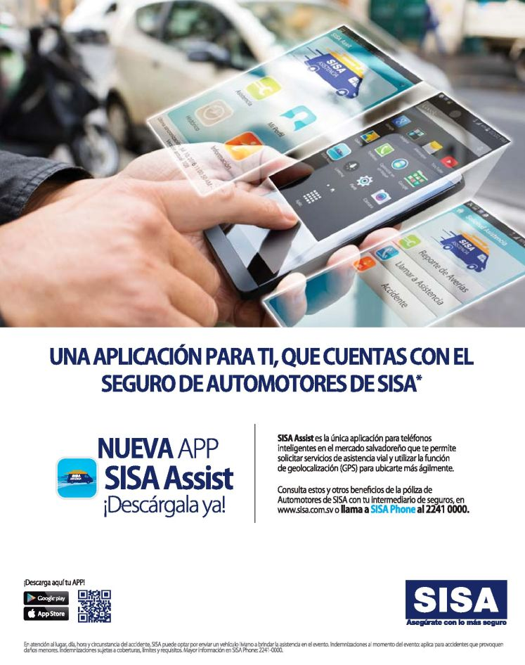 SISA app for android and iphone assurance apps