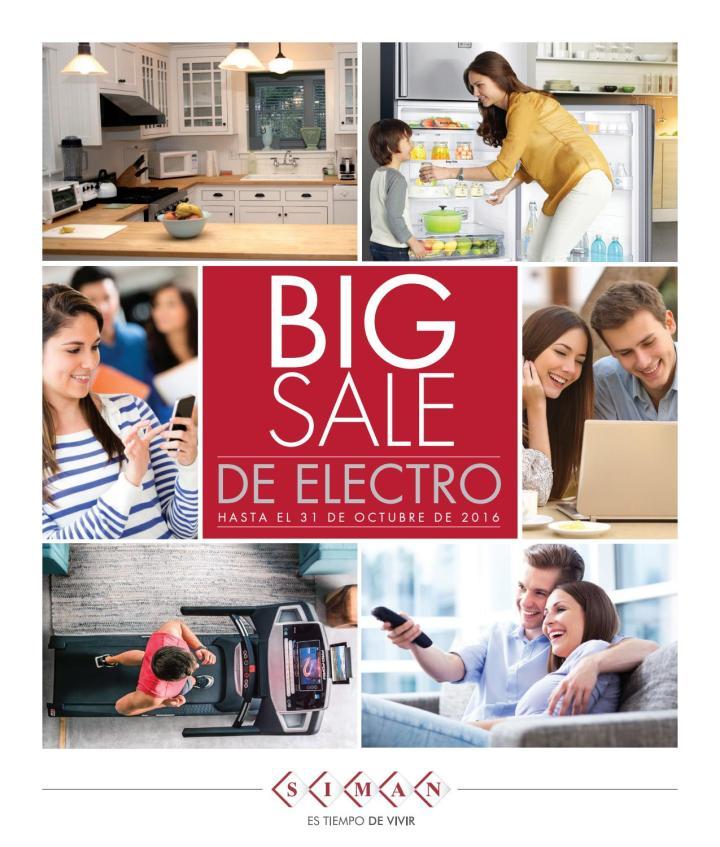 descubre ofertas electro en almacenes siman octubre 2016