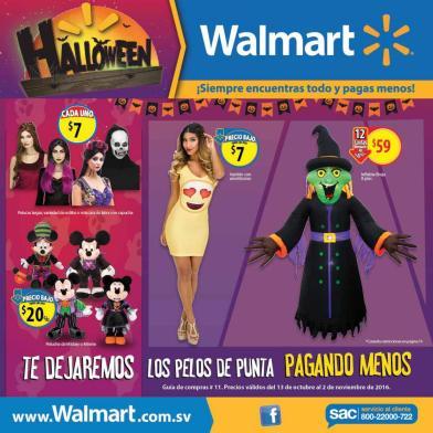 HALLOWEEN catalog walmart el salvador promociones october 2016