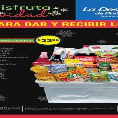 folleto de ofertas canastas Despensa de DOn Juan el salvador