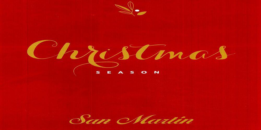 Postres para Navidad 2016, Catalogo Panaderia San Martin