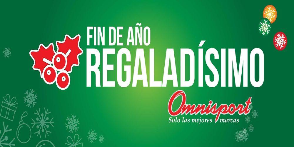 Fin de Año 2016 REGALADISIMO promociones OMNISPORT