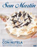 BELLAGIO CON NUTELA nuevo postre SAN MARTIN bizcocho marmoleado de vainilla
