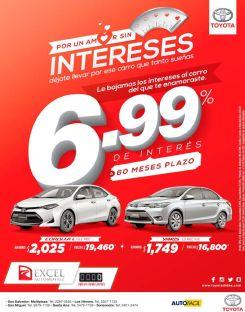 INTERES chiquito para comprar tu carro toyota 2017