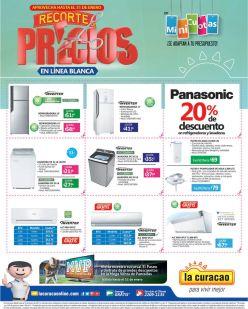 LA CURACAO promocion RECORTE de precios en linea blanca - 27ene17