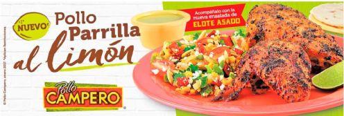 POLLO Campero a la parilla con limon nueva especialidad