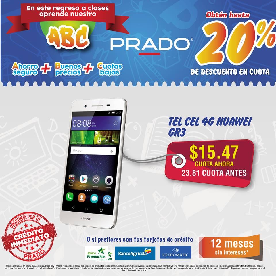 celulares PRADO oferta 4G huawei GR5