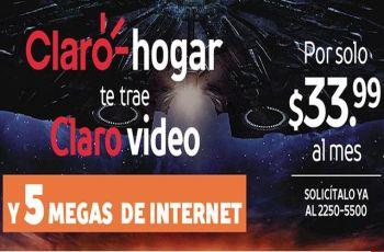 informacion de la promcoion 5 megas de internet de claro el salvador