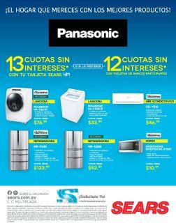 PANASONIC Apliance inverter technology avalible on serars store