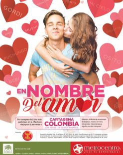 PROMOCION el nombre del amor te lleva a COLOMBIA